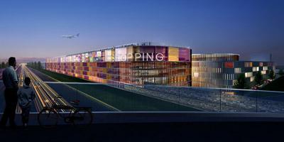 Weiterstadts größte Baustelle – neue Shopping-Mall