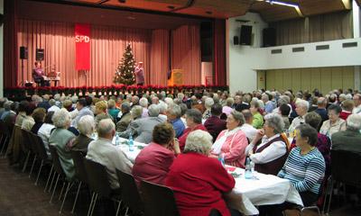 Weihnachtsfeier der SPD Senioren