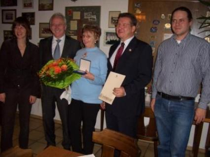 Auszeichnung für Stefanie Naas und Manfred Dittrich