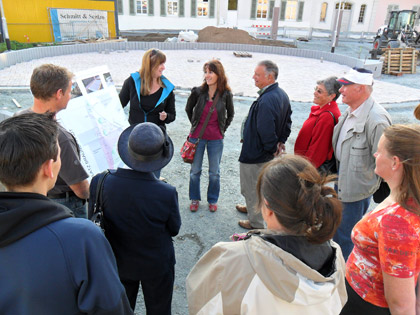 SPD Braunshardt auf Baustellen-Tour