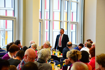 SPD-Vereinsfrühstück mit Landrat Klaus Peter Schellhaas