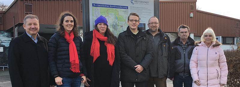 Gruppenbild des Vorstandes der SPD Schneppenhausen