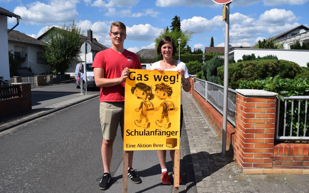 SPD startet Schulanfänger Aktion