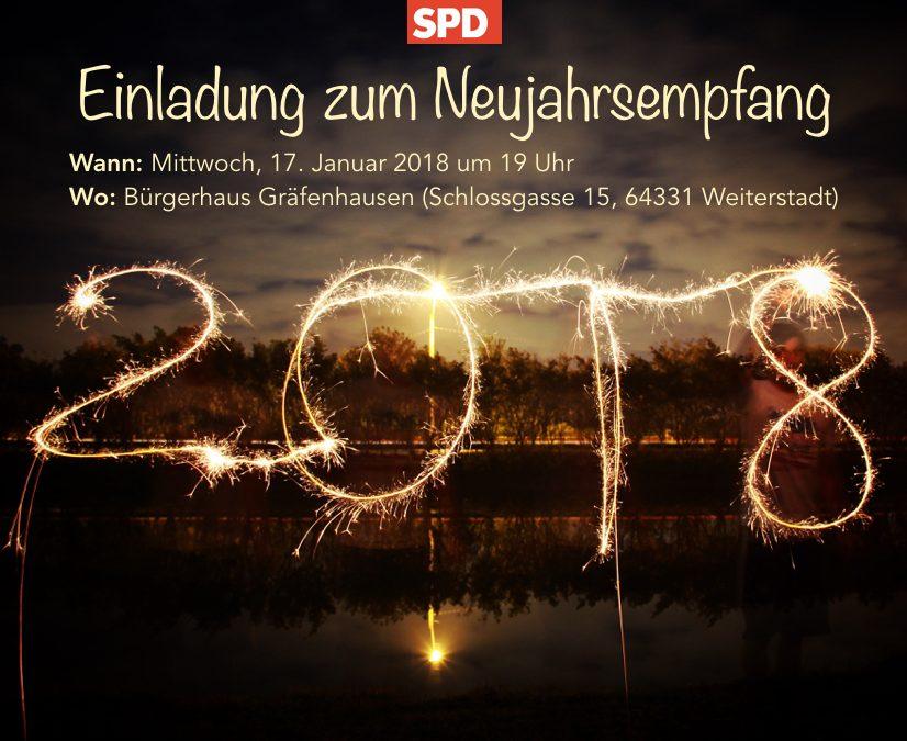 SPD Weiterstadt lädt zum Neujahrsempfang ein