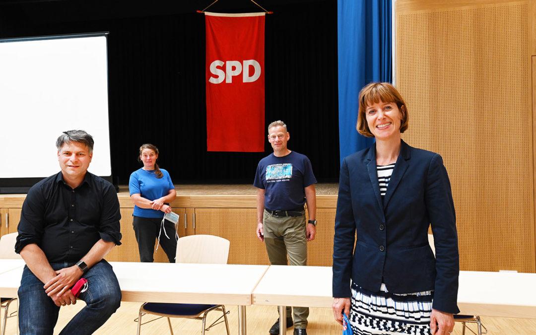 JHV DER WEITERSTÄDTER SPD IM NEUEN BÜRGERHAUS BRAUNSHARDT