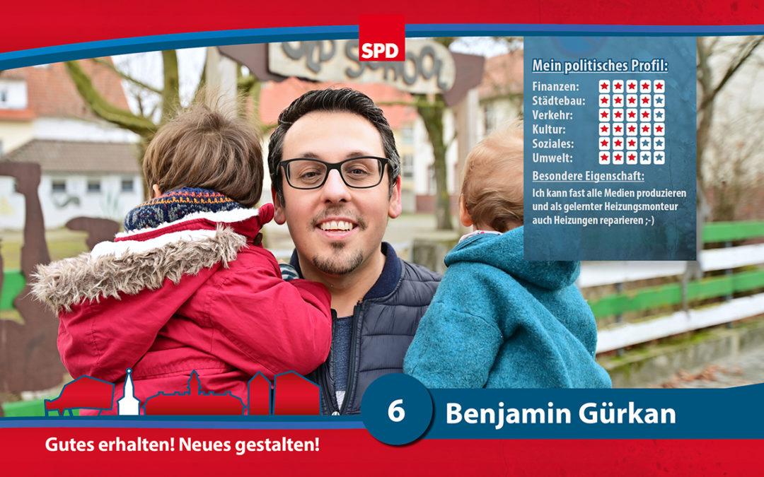 6 – Benjamin Gürkan
