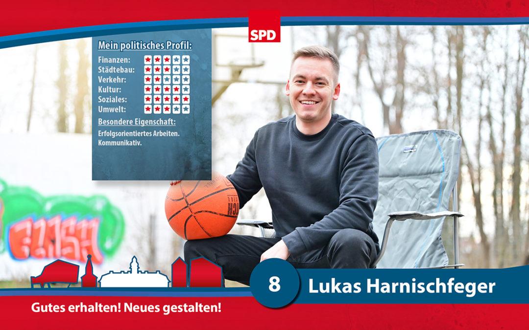 8 – Lukas Harnischfeger
