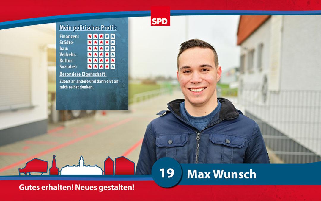 19 – Max Wunsch