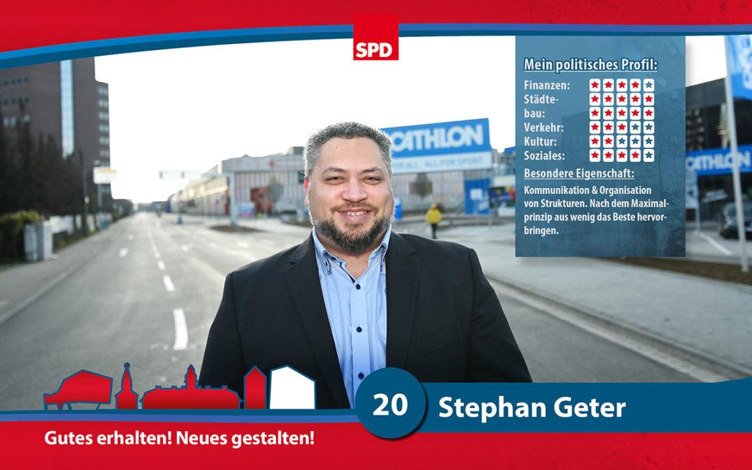20 – Stephan Geter