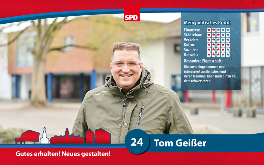 24 – Tom Geißer