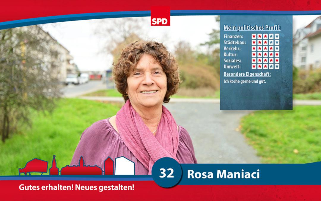32 – Rosa Maniaci